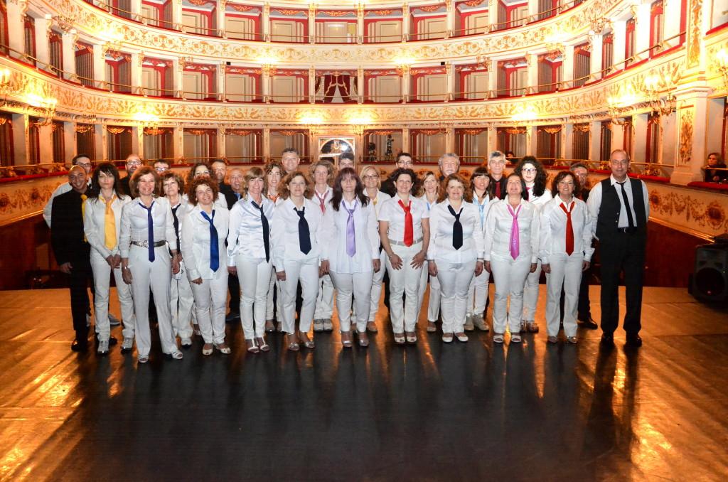 Il Coro Giovani Fabrianesi a Sinfonia Teatro Gentile Fabriano