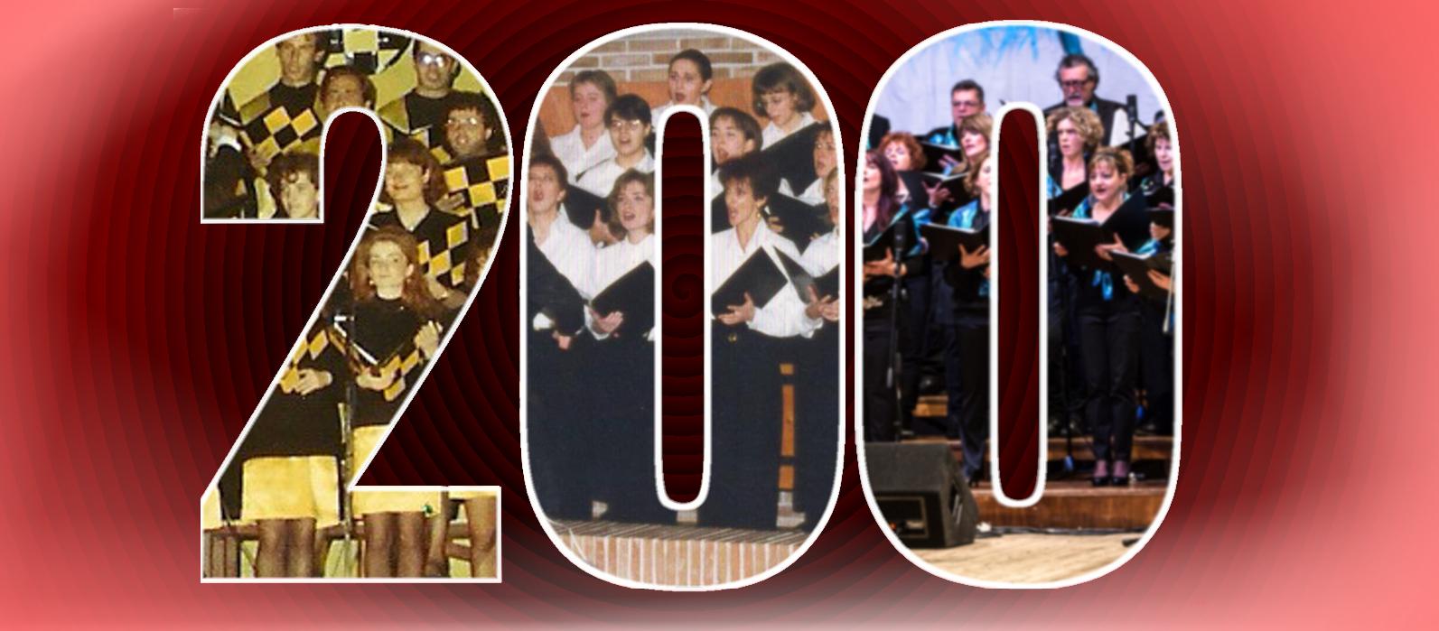 200 concerti per il Coro Giovani Fabrianesi!