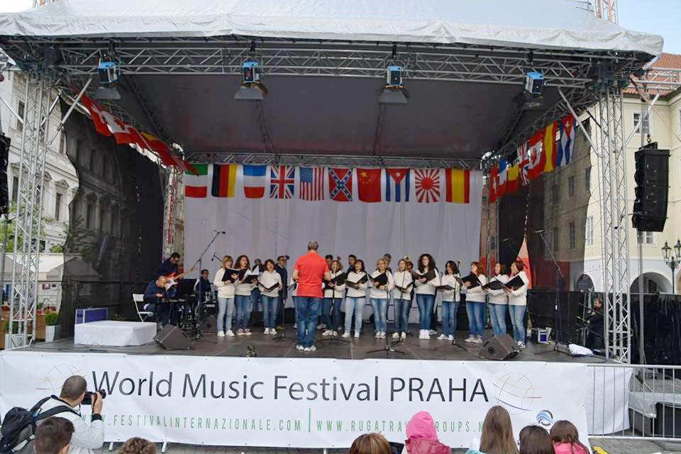 Il coro di Fabriano apre il 3° World Music Festival di Praga