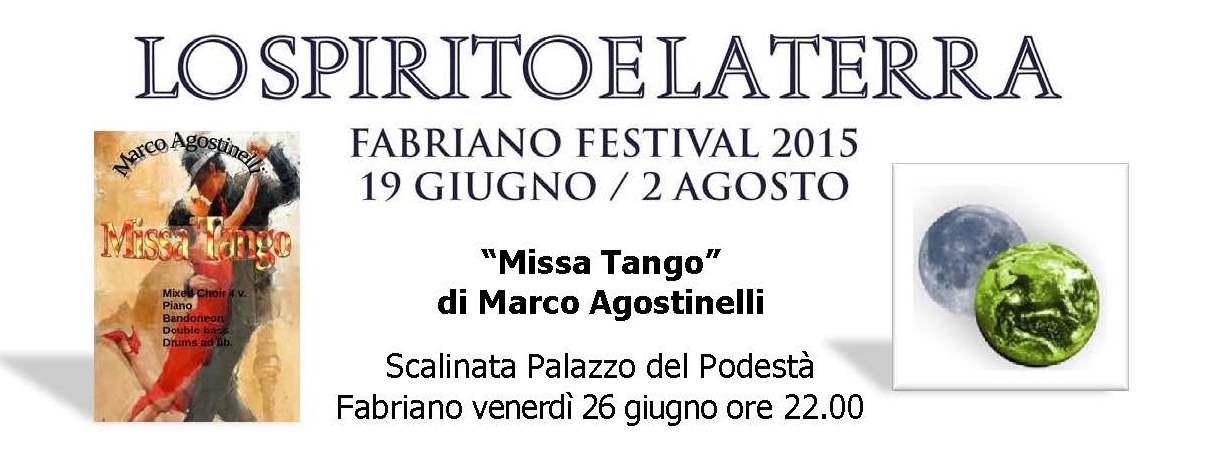 Missa Tango di Marco Agostinelli al Festival Fabriano con il Coro Giovani Fabrianesi