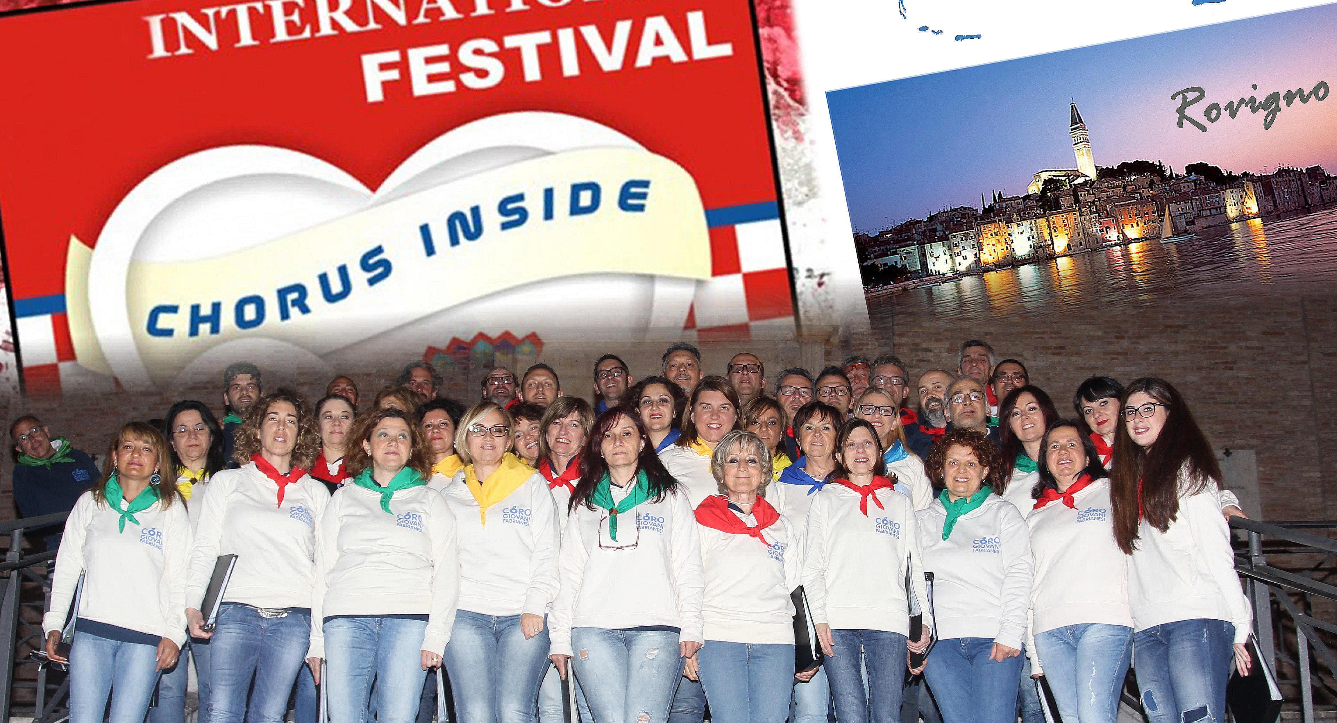 Coro Giovani di Fabriano in Croazia