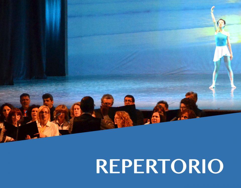 coro fabriano repertorio