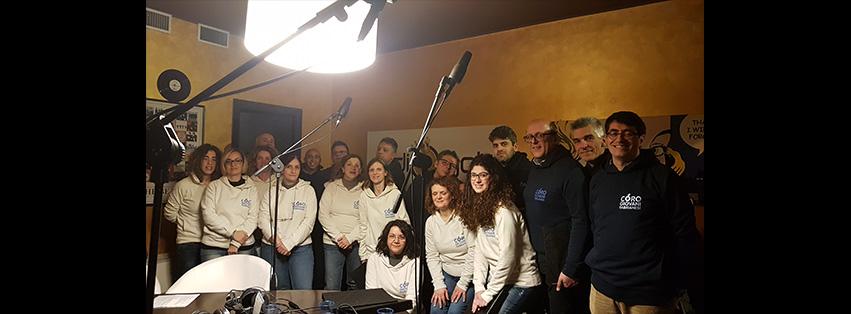 Coro Giovani Fabrianesi - Programma Radio -Sweet Home Fabriano