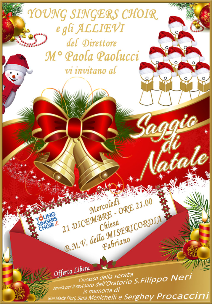 Saggio di Natale - Young Singers Choir