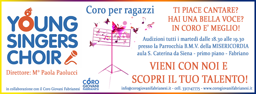 Young Singers Choir - Fabriano Direttore M° Paola Paolucc